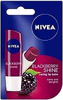 Nivea Lip Care Fruity Shine, Blackberry, 4.8g