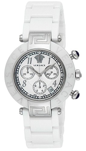 VERSACE-watch-Lev-E-ceramic-chronograph-white-dial-stainless-steel-ceramic-case-95CCS1D497SC01-Mens-parallel-import-goods