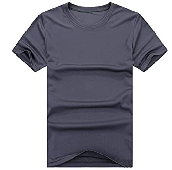 Urparcel Outdoor Sports Men's Quick Dry Shirts Short Sleeve Shirt