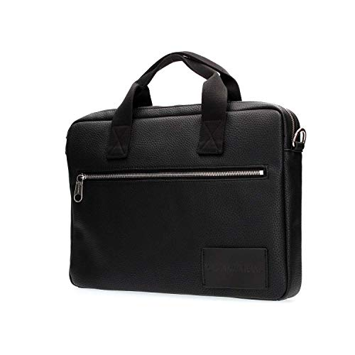 Black Brifcase Klein Jeans Borse Slim Tracolla Pebble Uomo K40k400398 A Calvin 1pgq7