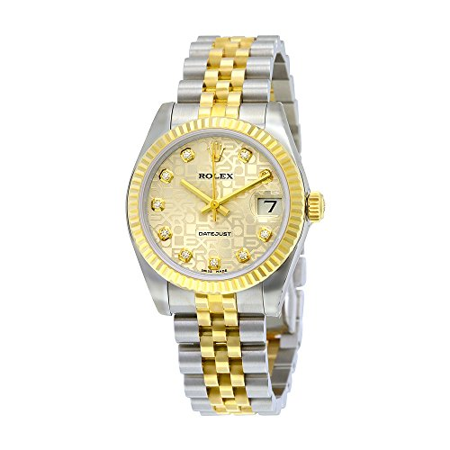Rolex Datejust Lady 31 Silver Dial Stainless Steel and 18K Yellow Gold Rolex Jubilee Automatic Watch 178273SJDJ