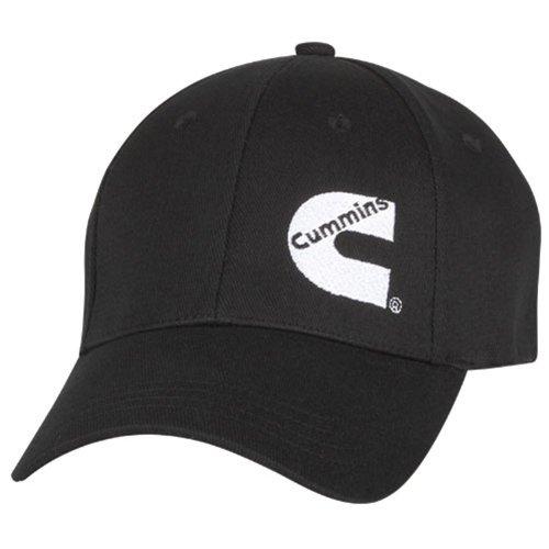 cummins-diesel-basic-black-flex-fit-fitted-cap
