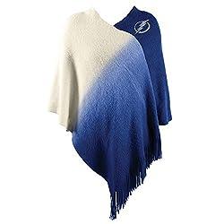 NHL Tampa Bay Lightning Dip Dye Poncho