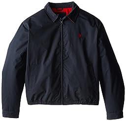 U.S. Polo Assn. Men\'s Big-Tall Golf Jacket, Classic Navy, 2X
