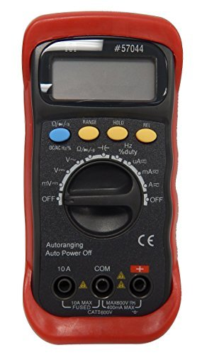 Morris Products 57044 Autoranging Digital Multimeter with Rubber Holster by Morris Products
