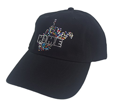 Nitro USA NCAA West Virginia Mountaineers Women's State Home Confetti Rhinestone Cap, One Size, -