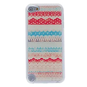xiao Special and Colorful Raised Grain Pattern Epoxy Hard Case for iPod Touch 5
