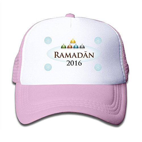 Price comparison product image Pink Youth Ramadan 2016 Cute Adjustable Baseball Mesh Cap For Boys And Girls One Size