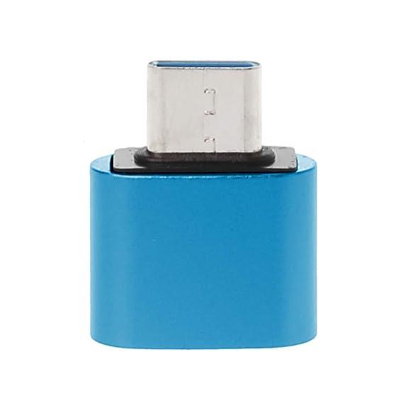 Jenor USB C 3.1 Typ C Stecker auf USB 2.0 Buchse OTG Daten-Synchronisierungs-Adapter für Samsung S9 S8 Note 9/8 Huawei Mate 2