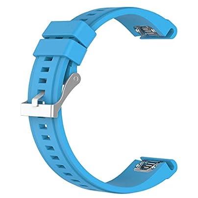 Shiwaki 20mm Silicone Watch Bands Wristband Sports Strap For Fenix5S Estimated Price £4.99 -