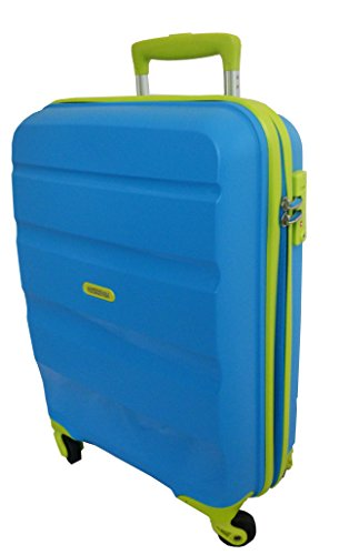 American Tourister Trolley Bagaglio a mano BON AIR Spinner S Blue/Lime art. 59422 5463