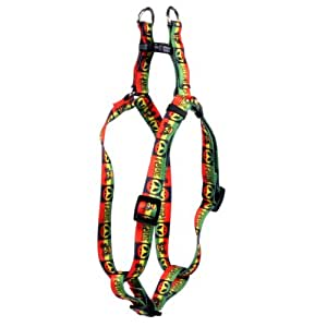 Yellow Dog Design Step-In Harness, Medium, Rasta