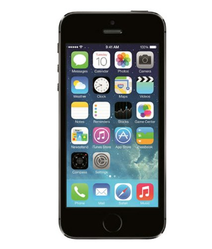 Apple iPhone 5S - 16GB - AT&T - Space Gray (Certified Refurbished) (Refurbished Att Iphone)