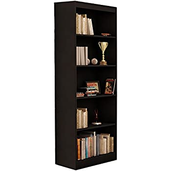 Amazon Com Sonax Hawthorn 72 Inch Tall Bookcase Midnight Black