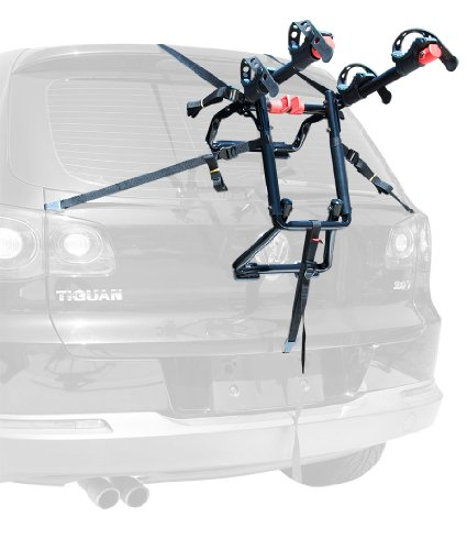 Allen Sports Premier 2-Bike Trunk Rack, Model S102 (Best Bike Rack For Hatchback)