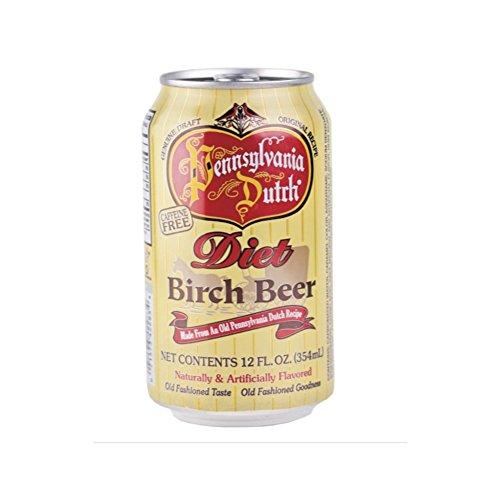 Pennsylvania Dutch Diet Birch Beer, 12 Oz. (Pack of ()