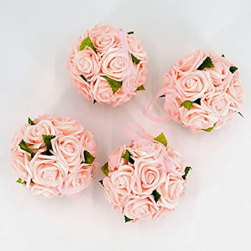 Kissing Ball Centerpieces - idyllic 6 Inches Kissing Flower Foam