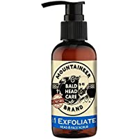 Mountaineer Brand Bald Head Care - Exfoliate - Men's All Natural Head and Face Scrub 4 oz.