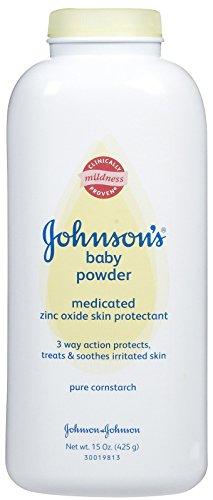 Johnson's Baby Powder - Medicated - 15 oz
