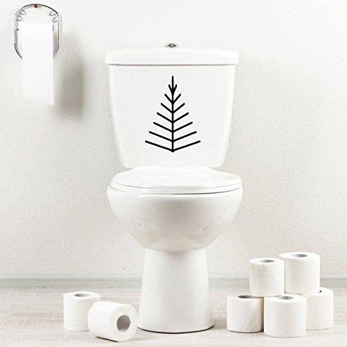 stickany-bathroom-decal-series-twig-tree-arrow-head-sticker-for-toilet-bowl-bath-seat-black