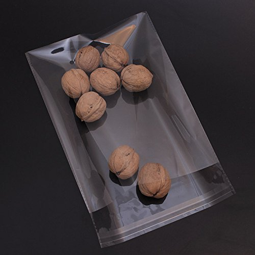 AIRSUNNY 200 Pcs 4x6 Clear Resealable Cello/Cellophane Bags Good for Bakery, Candle, Soap, Cookie Poly Bags