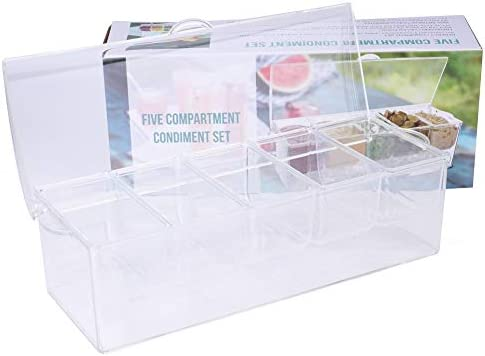 Tebery Chilled Condiment Removable Compartments product image