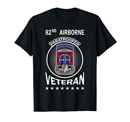 82nd Airborne Paratrooper Veteran Tshirt