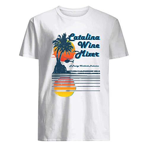 USA 80s TEE Catalina Wine Mixer Shirt ()