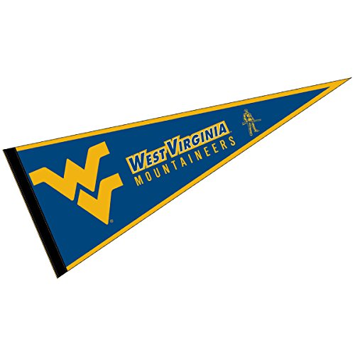 West Virginia Mountaineers Pennant Full Size Felt