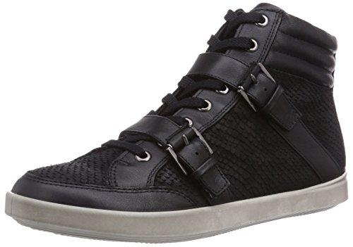 Nero Feather Alto black black Sneaker Feather Ecco Black Aimee Collo A clodin50659 schwarz Donna clodin OwUzSqx