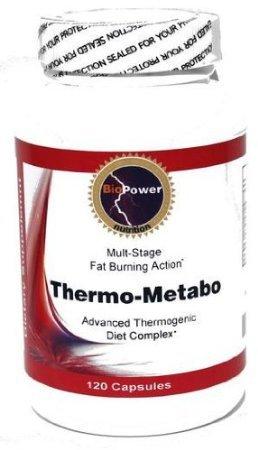 Thermo-Metabo * thermogénique brûleur de calories métabolique / Calcium Pyruvate, ginseng coréen, L-phénylalanine, L-Tyrosine, Chrome Polynicotinate / 240cap (2 bouteilles)