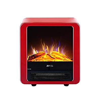 Air Conditioners CJC Stove Fire Place Fireplace 1800W 900W Portable Freestanding Flame Home Office Heat