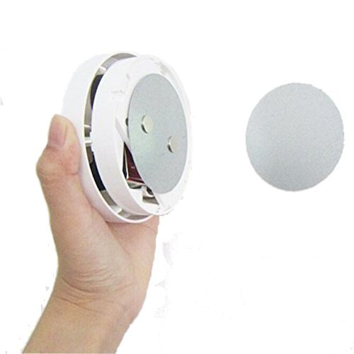 NEW!! Magnetic Fastening Kit Quick and Easy Installation for Ceiling Mounted Smoke Detectors, Ceiling Mounted Wireless Doorbells or Motion Sensors ()