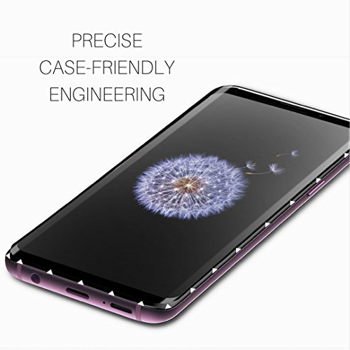 Galaxy S9 Screen Protector - Tempered Glass Shield Full Coverage 3D