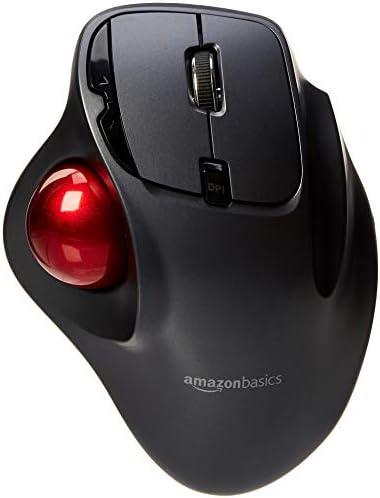 Amazonbasics Wireless Trackball Mouse Computers Accessories