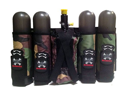 Maddog Sports 4+1 Vertical Paintball (4 Pod Paintball Harness)