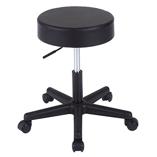 Adjustable Massage Stool Superjare Rolling Chair With