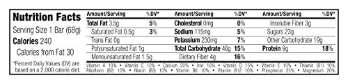 722252100702 - Cliff Bar Clif Bar, Og, Apricot, 2.40-Ounce (Pack of 12) ( Value Bulk Multi-pack) carousel main 6
