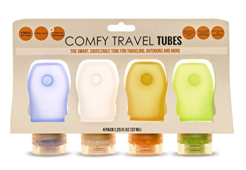 comfy-travel-silicone-bottles-set-of-4-x-125-oz-quality-bpa-free-silicone-leak-proof-squeezable-easy