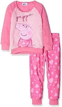 Peppa Pig Peppa Conjuntos de Pijama, Rosa (Pink 17-2230TC), 8 años ...