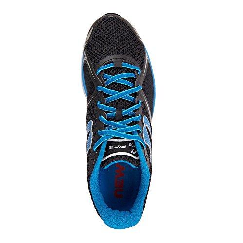 newtonrunning Herren Mens Fate III Neutral Running Shoe Laufschuhe Schwarz (Black/Blue)