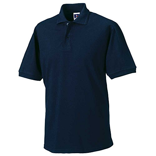 Russell CollectionHerren Poloshirt #N/A, Blau - French Navy, 2XL - 44' - 46' Chest