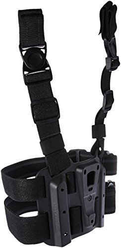 BLACKHAWK! 432000PBK Tactical Holster Platform, Black