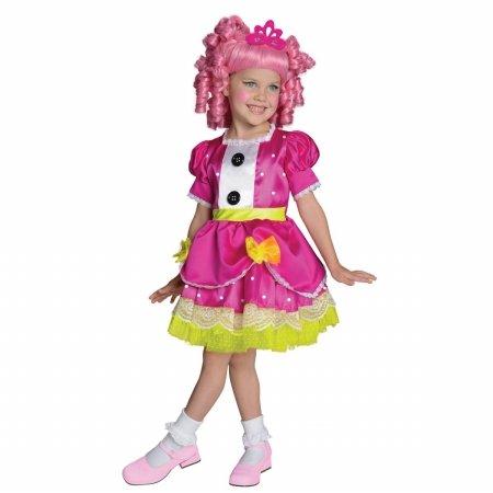 Rubies Girls Lalaloopsy Jewel Sparkles Halloween Costume Medium ()