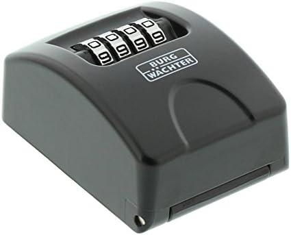 BURG-WÄCHTER Schlüsseltresor mit Zahlenkombination, KeySafe 10 SB, Schwarz