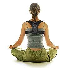 Depps Posture Corrector Brace Shoulder Back Support Clavicle Brace Adjustable Figure 8 Training Muscles Spine Improve Posture Upper Back Pain Relief Extra Soft Breathable for Women and Men