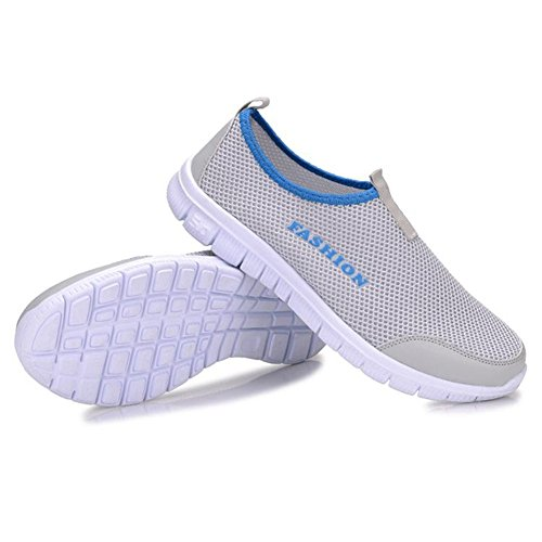 Unisex Beach Shoes Outdoor Fitness Shoes Surfing Shoes For Women and Men Light Gray TlRKbM6S