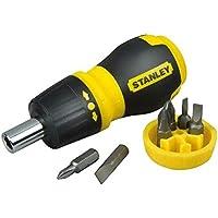 Stanley 066358 Multi-Bit Stubby Screwdriver