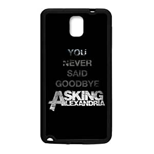Zyhome Galaxy Note 3 Special Design Asking Alexandria Band Case Cover for Samsung Galaxy Note 3 (Laser Technology)