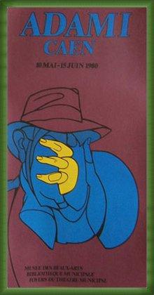 ポスター ヴァレリオアダミ CAEN 額装品 ウッドベーシックフレーム(グリーン) B071K61LXX グリーン グリーン
